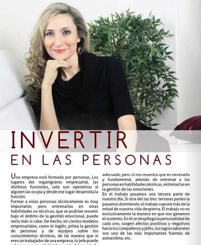 INVERTIR EN LAS PERSONAS