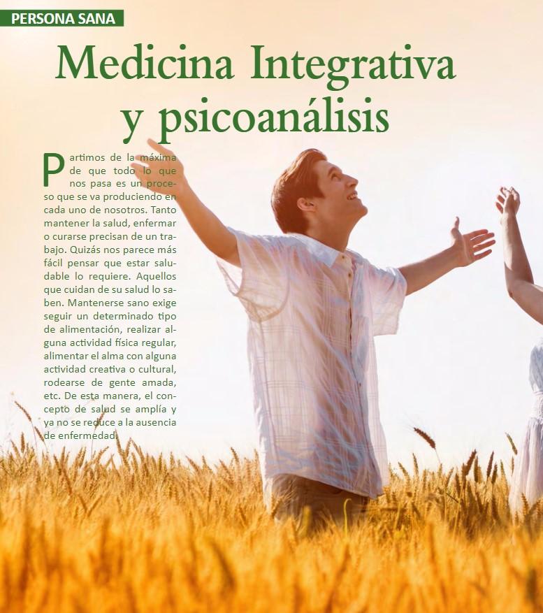 MEDICINA INTEGRATIVA Y PSICOANÁLISIS