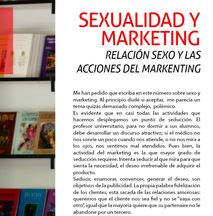 SEXUALIDAD Y MARKETING